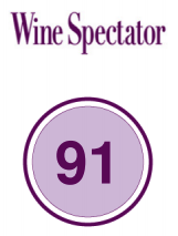 Wine SPectator note Chante Cigale 91