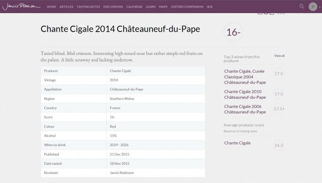 CHANTE CIGALE TRADITION ROUGE 2014 - 16- JANCIS
